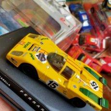 Slot Cars: ANTIGUO COCHE SLOT CIRCUITO BARCHETTA FERRAR 512 M 24H DE LE MANS - SPIRIT - SCALEXTRIC SCX. Lote 267339194