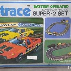 Slot Cars: SLOTRACE SUPER CAR RACING N° 201. AÑO 1979 NUEVO.NUNCA USADO.. Lote 267756999
