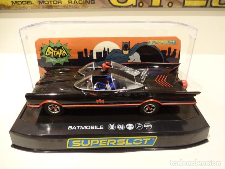 SUPERSLOT. BATMOBILE 1966 TV SERIES. REF. H4175 (Juguetes - Slot Cars - Magic Cars y Otros)