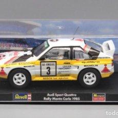 Slot Cars: AUDI QUATTRO SPORT RALLY MONTE CARLO 1985 (REVELL). Lote 268965389