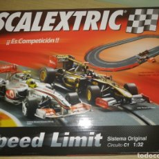 Slot Cars: SCALEXTRIC SPEED LIMIT. Lote 269378638