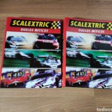 Slot Cars: SCALEXTRIC COLECCIÓN DUELOS MITICOS ALTAYA. Lote 269471213