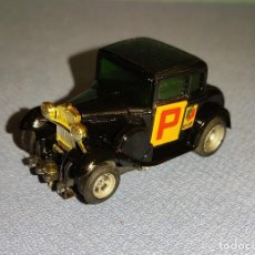 """Slot Cars: PRECIOSO COCHE DE PISTA AURORA AFX AÑO 1928 FORD MODEL """" A """" COUPE BLACK AUTOCLUB MICHELIN TEXACO. Lote 269944043"""