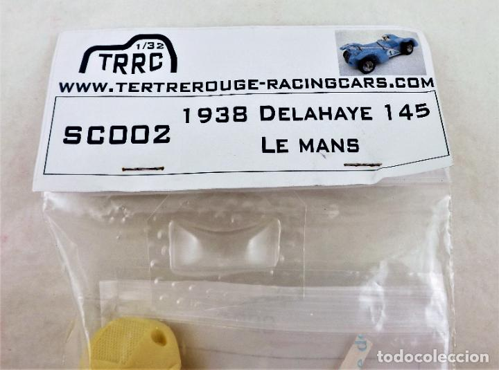 Slot Cars: Slot resina de TRRC Delahaye 145 Le Mans 1:32 - Foto 2 - 270120893