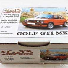 Slot Cars: MAS GAS SLOT KITS VW GOLF GTI MKII SERIE LIMITADA KIT RESINA. Lote 270121578
