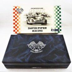 Slot Cars: FLY CAR MODEL PORSCHE 917 WATKINS GLEN + REGALO CAJA DAVID PIPER RACING. Lote 270122478