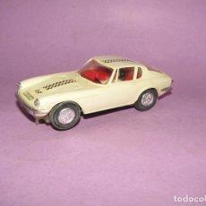 Slot Cars: ANTIGUO MASERATI GT DE SLOT TIPO SCALEXTRIC SERIE JYECAR DE JYE JYESA - AÑO 1960S.. Lote 271131503