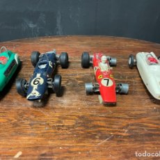 Slot Cars: LOTE DE CUATRO COCHES SLOT CAR MASE IN WESTERN GERMANY. Lote 271357618