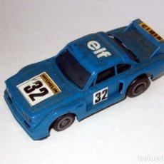 Slot Cars: TCR COCHE CARRERAS AZUL Nº 32 ELF CON LUZ IBER-ESPAIN. Lote 272056538