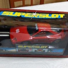 Slot Cars: SCALEXTRIC FERRARI F40 SUPERSLOT, NUEVO EN CAJA SIN USO. Lote 272232923