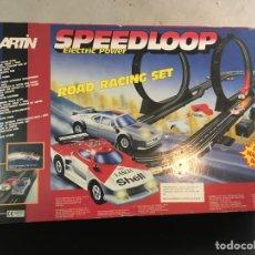 Slot Cars: PISTA SLOT SPEED LOOP VINTAGE. Lote 273288643