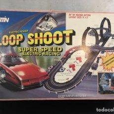 Slot Cars: PISTA SLOT LOOP SHOOT VINTAGE. Lote 273288833