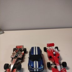 Slot Cars: SCALEXTRIC LOTE COCHES DISTINTAS MARCAS. Lote 274004158