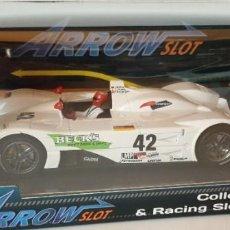 Slot Cars: SCALEXTRIC ARROW SLOT BMW V12 LMR SEBRING 1999 NUEVO EN CAJA ORIGINAL. Lote 274236803