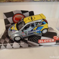 Slot Cars: SLOTER. OPEL COSA. VEDELAGO. REF. 9513. Lote 274614398