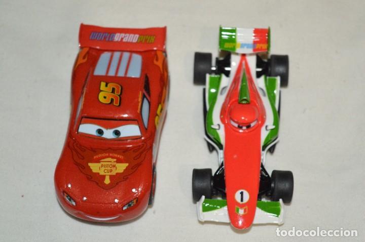 2 COCHES SLOT - CARRERA GO!!! / ESCALA 1:43 - COCHE Y MOTOR FUNCIONANDO CORRECTAMENTE ¡MIRA! LOTE 03 (Juguetes - Slot Cars - Magic Cars y Otros)