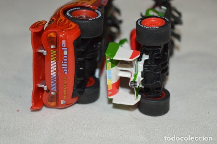Slot Cars: 2 Coches Slot - CARRERA GO!!! / Escala 1:43 - Coche y Motor FUNCIONANDO correctamente ¡Mira! Lote 03 - Foto 7 - 274633518