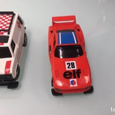 Slot Cars: 2 COCHES TCR. AMBULANCIA. 1980. MADE IN SPAIN. Lote 274792603