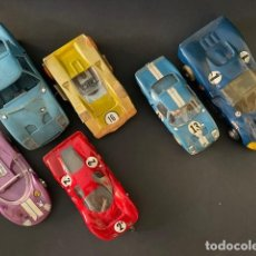 Slot Cars: LOTE DE 6 COCHES TIPO SCALEXTRIC (POSIBLEMENTE COX). Lote 275769503
