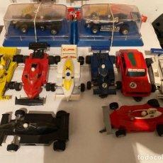 Slot Cars: DIEZ COCHES MUY RAROS, AUTORAMA DE LA MARCA ESTRELA FABRICADOS EN BRASIL (SLOT CARS MADE IN BRASIL). Lote 275790118