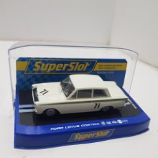 Slot Cars: FORD LOTUS CORTINA SUPERSLOT. Lote 276531968