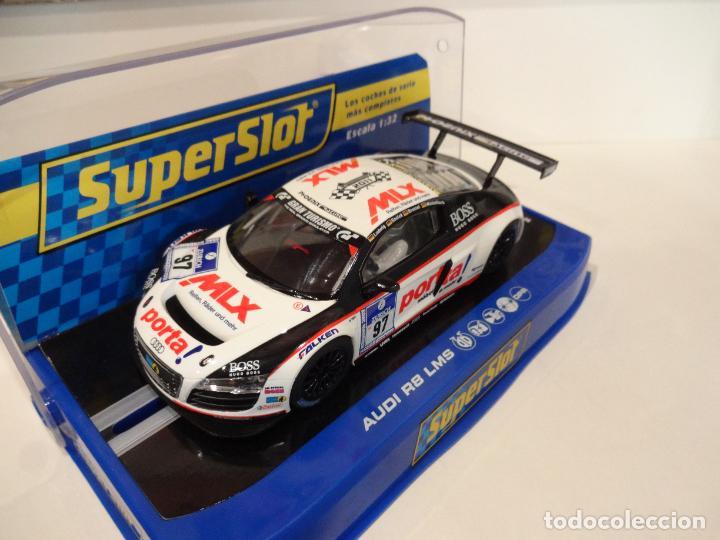 Slot Cars: Superslot. Audi R8 LMS. Range Presentation 2011. Ref. H3236 - Foto 2 - 276948038