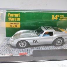 Slot Cars: PINK KAR FERRARI 250 GTO 14A FIRA VIC SLOT CLASSIC EDICIO LIMITADA. Lote 277720373