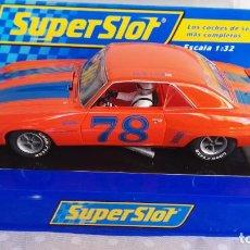 Slot Cars: CHEVROLET CAMARO SUPERSLOT 78. Lote 277753928
