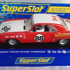 Slot Cars: CHEVROLET CAMARO SUPERSLOT 88. Lote 277755178