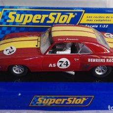 Slot Cars: CHEVROLET CAMARO SUPERSLOT 74. Lote 277755503