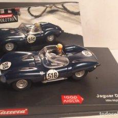 Slot Cars: JAGUAR TIPO D MILLE MIGLIA 1957 DE CARRERA. Lote 277824863