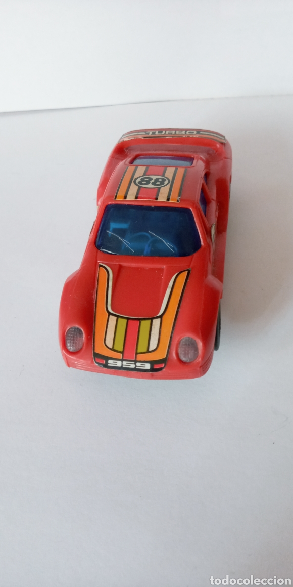 Slot Cars: PURCHE 959 TURBO- COCHE PARA PISTA DE BAJA TENSION- - Foto 4 - 278490173