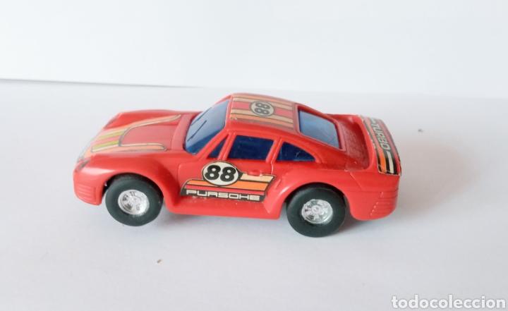 Slot Cars: PURCHE 959 TURBO- COCHE PARA PISTA DE BAJA TENSION- - Foto 5 - 278490173