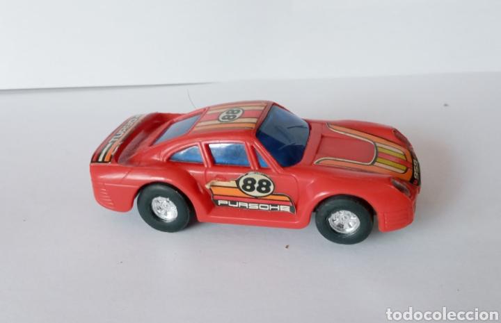 Slot Cars: PURCHE 959 TURBO- COCHE PARA PISTA DE BAJA TENSION- - Foto 8 - 278490173