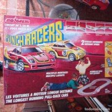 Slot Cars: MAJORETTE PUNCH RACERS CIRCUITO COMPLETO ORIGINAL MUY RARO. Lote 278606143