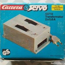 Slot Cars: TRANSFORMADOR - CARRERA SERVO RF.53716, 2 X 0,6 A - CAJA ORIGINAL, SIN ESTRENAR - PJRB. Lote 278922493