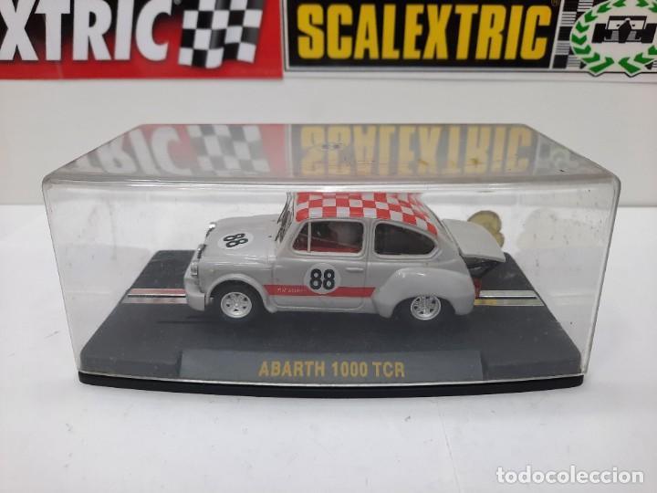 SCALEXTRIC FIAT ABARTH 1000 TCR #88 REPROTEC DESCRIPCION!! (Juguetes - Slot Cars - Magic Cars y Otros)
