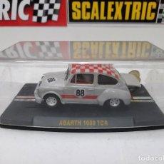 Slot Cars: SCALEXTRIC FIAT ABARTH 1000 TCR #88 REPROTEC DESCRIPCION!!. Lote 284028243