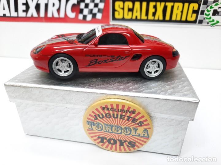 SCALEXTRIC PORSCHE BOXTER HORNBY SUPERSLOT (Juguetes - Slot Cars - Magic Cars y Otros)