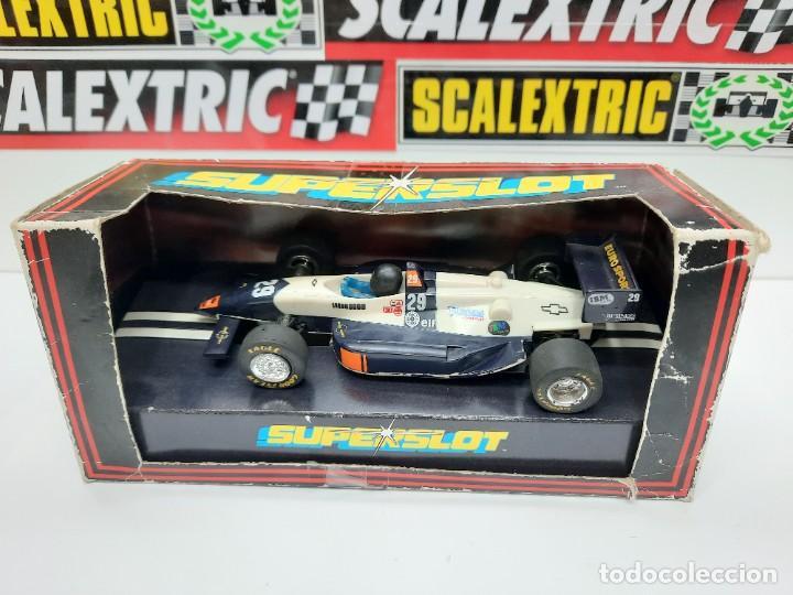 SCALEXTRIC INDY CAR EUROSPORT FORMULA HORNBY SUPERSLOT (Juguetes - Slot Cars - Magic Cars y Otros)