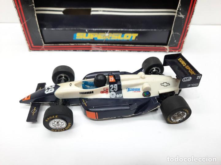 Slot Cars: SCALEXTRIC INDY CAR EUROSPORT FORMULA HORNBY SUPERSLOT - Foto 2 - 284185293