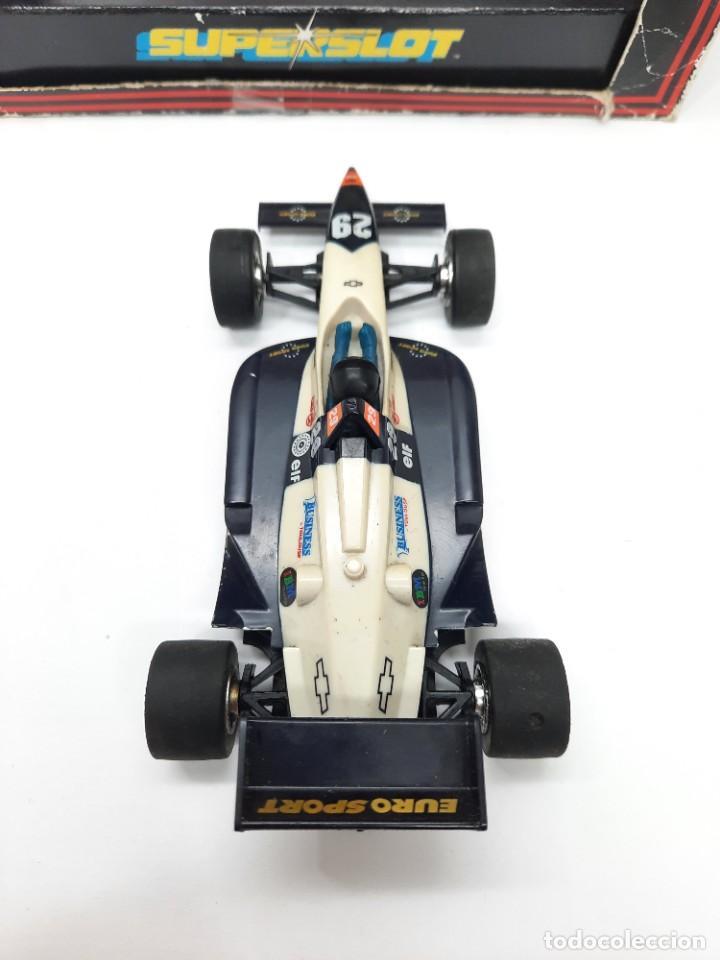 Slot Cars: SCALEXTRIC INDY CAR EUROSPORT FORMULA HORNBY SUPERSLOT - Foto 4 - 284185293