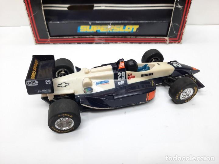 Slot Cars: SCALEXTRIC INDY CAR EUROSPORT FORMULA HORNBY SUPERSLOT - Foto 6 - 284185293