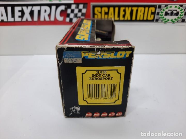 Slot Cars: SCALEXTRIC INDY CAR EUROSPORT FORMULA HORNBY SUPERSLOT - Foto 11 - 284185293