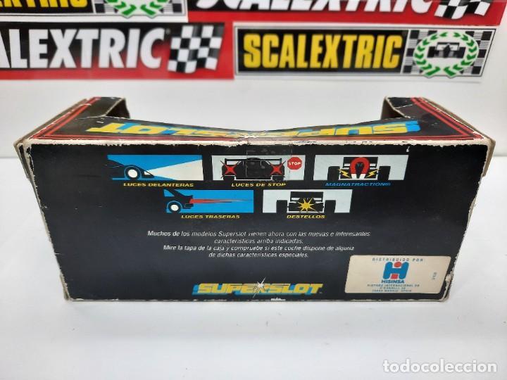 Slot Cars: SCALEXTRIC INDY CAR EUROSPORT FORMULA HORNBY SUPERSLOT - Foto 12 - 284185293