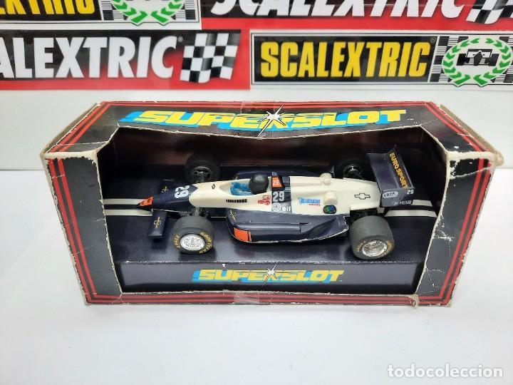 Slot Cars: SCALEXTRIC INDY CAR EUROSPORT FORMULA HORNBY SUPERSLOT - Foto 14 - 284185293