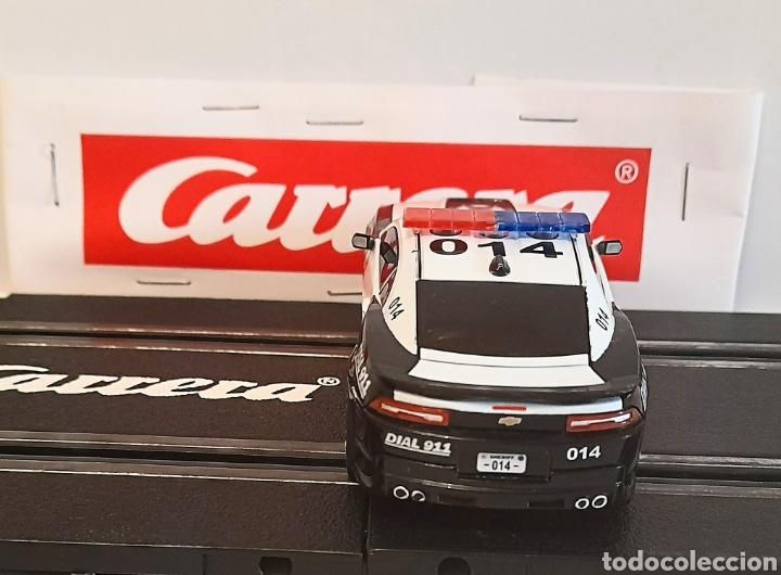 Slot Cars: CARRERA GO !!! - CHEVROLET CAMARO ZL1 -SHERIFF--CON LUCES -PISTAS 1/43 - Foto 4 - 284280193
