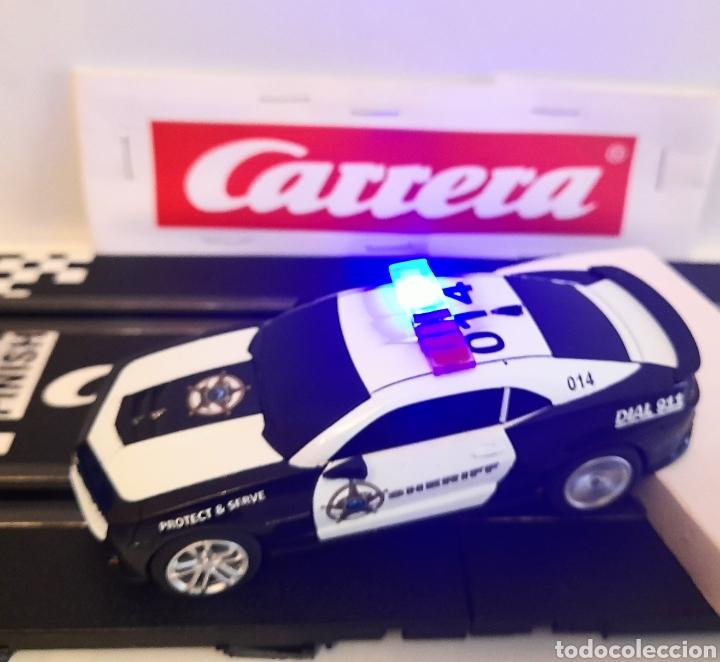 Slot Cars: CARRERA GO !!! - CHEVROLET CAMARO ZL1 -SHERIFF--CON LUCES -PISTAS 1/43 - Foto 5 - 284280193