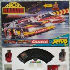 Slot Cars: CARRERA SERVO 160 NACHT RALLYE - SIN LOS COCHES DE CARRERAS - CAJA ORIGINAL - PJRB. Lote 284787063