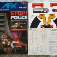Slot Cars: AFX STOP POLICE! GX2850 - COMANSI - COCHES DE CARRERAS - CAJA ORIGINAL, SIN PRECINTO - PJRB. Lote 284789448